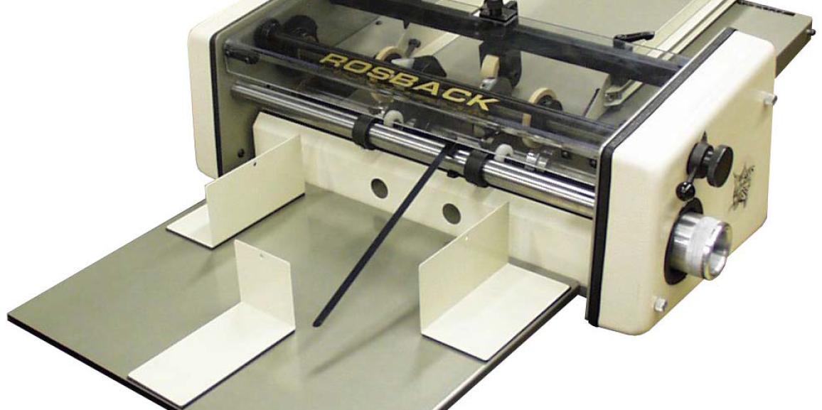 ROSBACK Bobcat 218 Friction Fed Automatic Perforating Machine