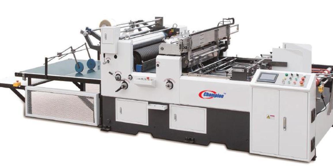 Champion CWB 1080 DBF Automatic Double Up Window Patching Machine