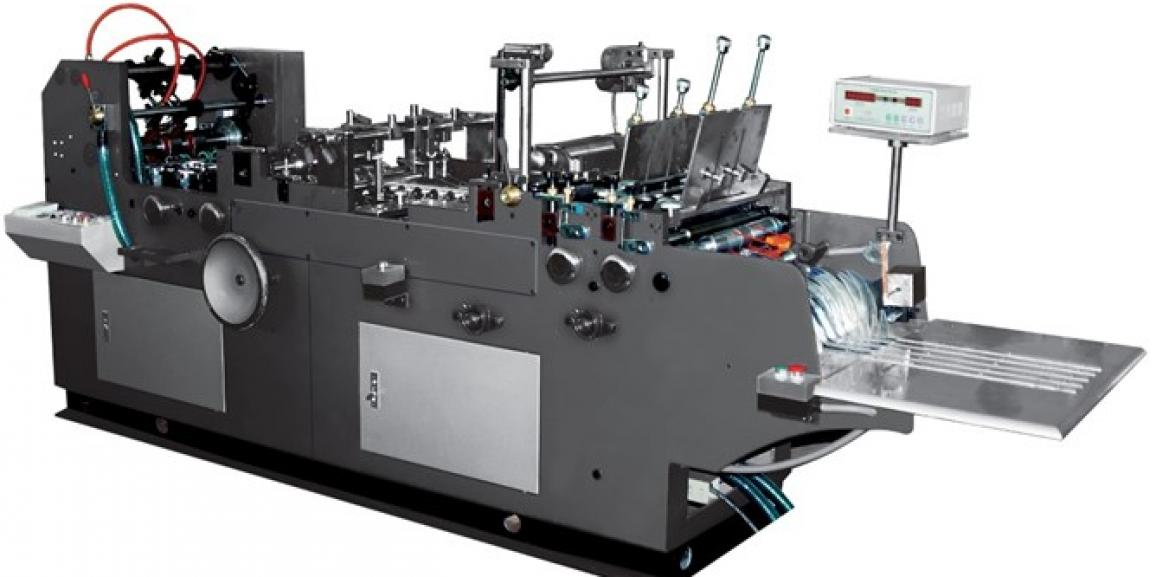 Champion CF 400 Fully Automatic Envelope Folding & Gluing Machine
