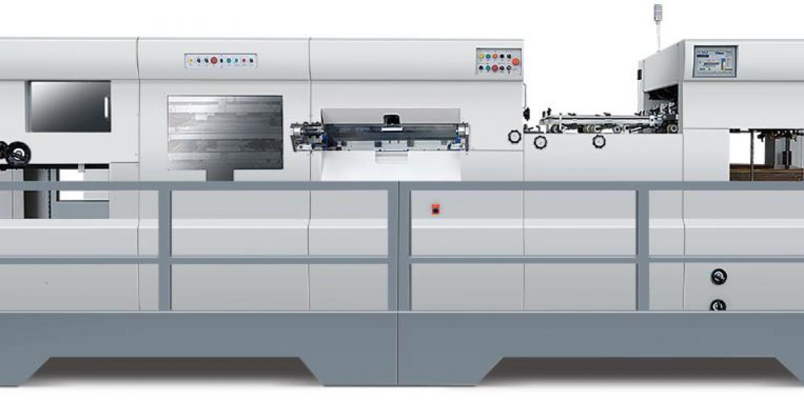 Champion CAD1060ss Automatic Die Cutting Machine with Stripping Unit (3 Side Stripping)