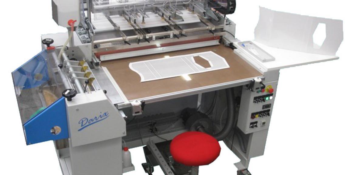 DARIX Semi-Automatic Case Maker with Automatic Board Feeder