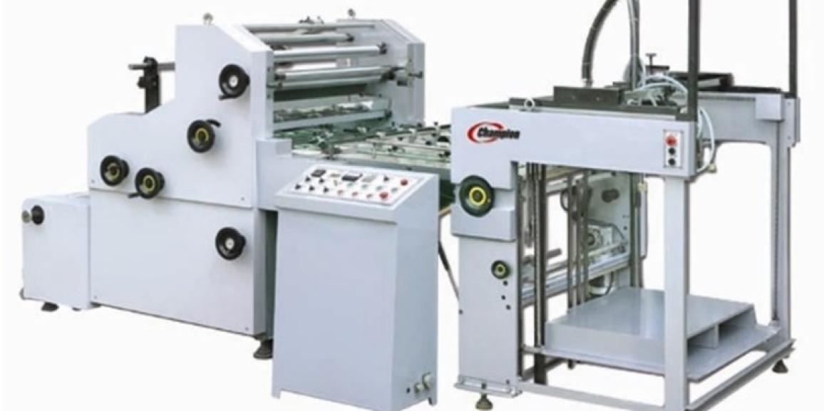 Champion CAGL 1100 Automatic Glue Laminators