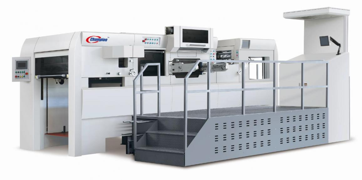 Champion ULTRAFOIL 1050SS Full-automatic hot foil stamping with X axis & Y axis Die-cutting and creasing machine with STRIPPING