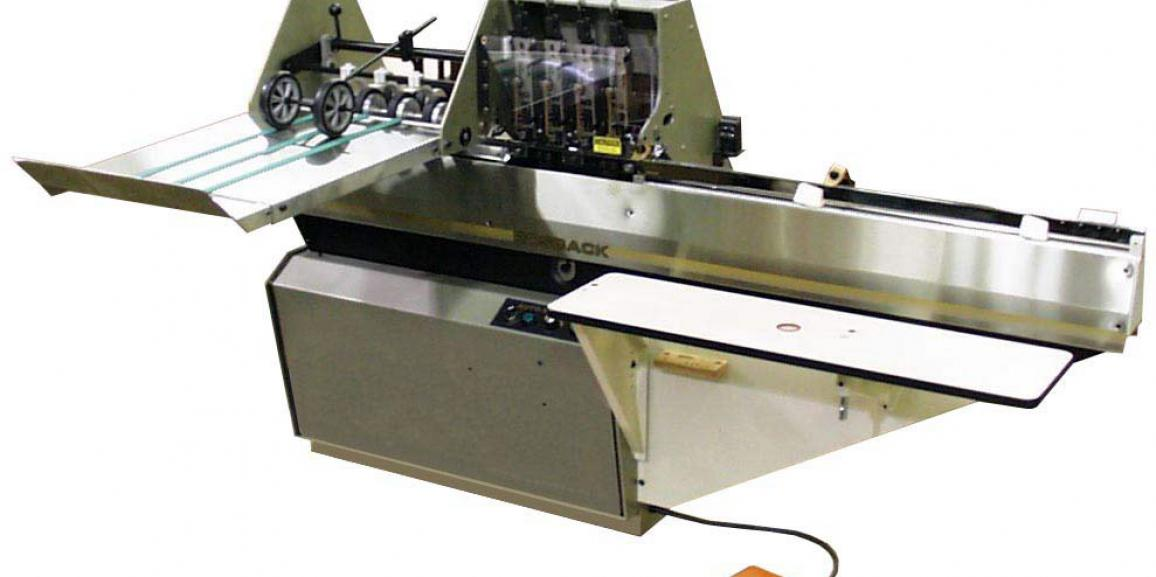 Rosback 201CB High Speed Automatic Saddle Wire Stitcher