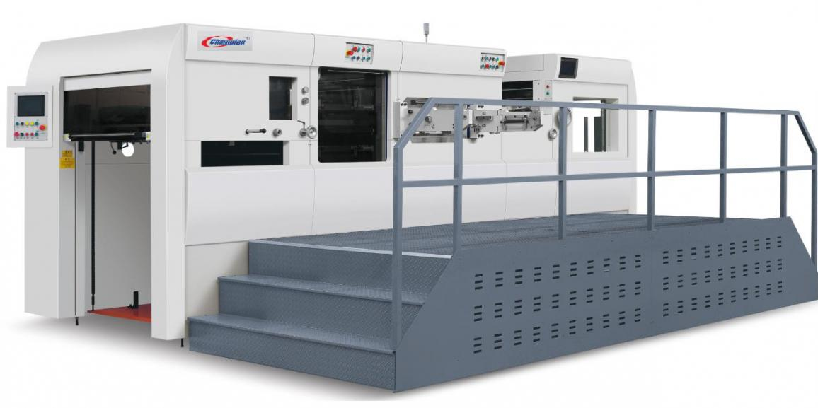 Champion ULTRACUT-1050 ss Full Automatic Die Cutting and Creasing Machine with 4 side stripping unit