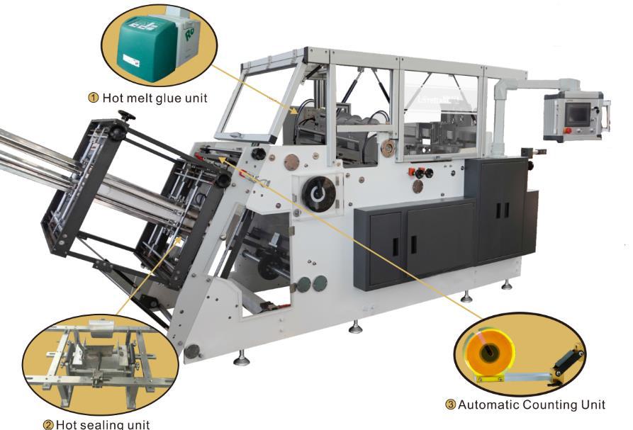 Champion CHBM 600 Eco Single Tray Hamburger Box Making Machine