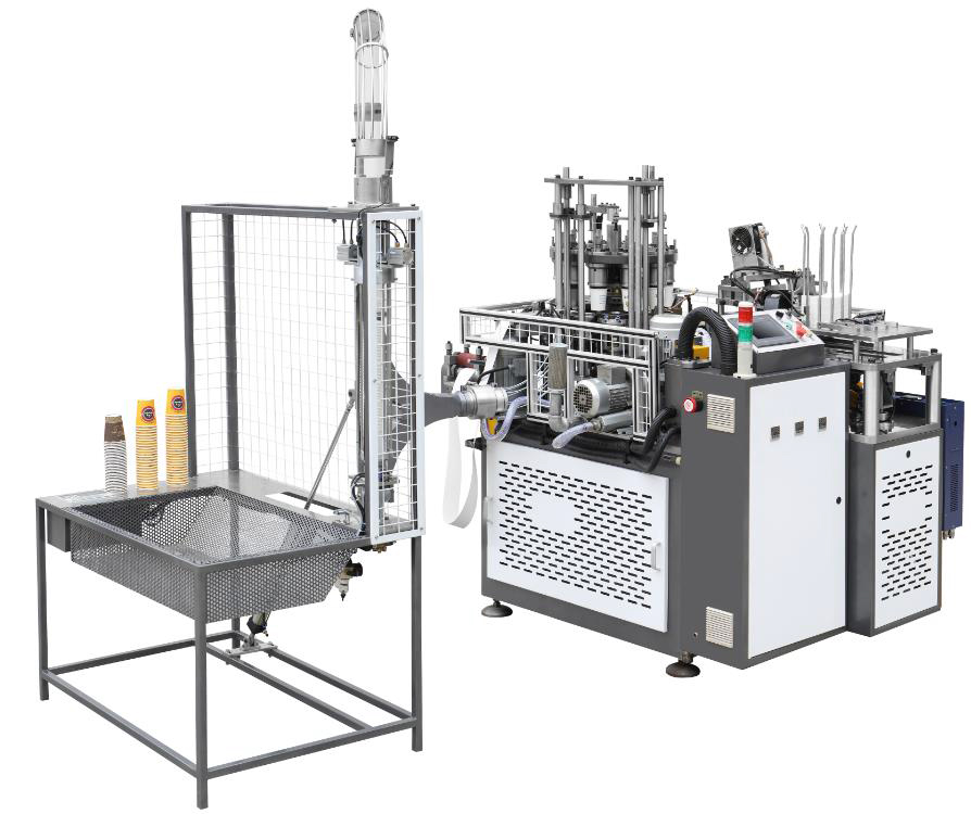 Champion CPM 22 D CUP PRO Middle Speed Paper Cup forming Machine