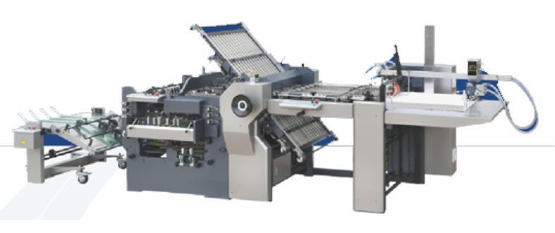 Champion CYHD 670B Automatic Combination Folding Machine