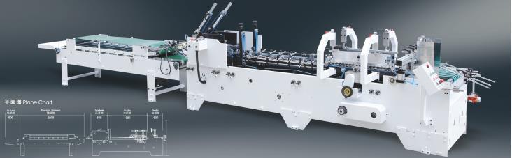 Champion SWIFTFOLD 650 A Straight-line Folding Gluing Machine