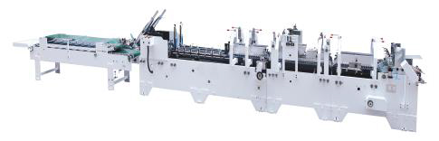 Champion SWIFTFOLD LS 780 Automatic High-Speed Straight-line & Crash Lock Folding Gluing machine