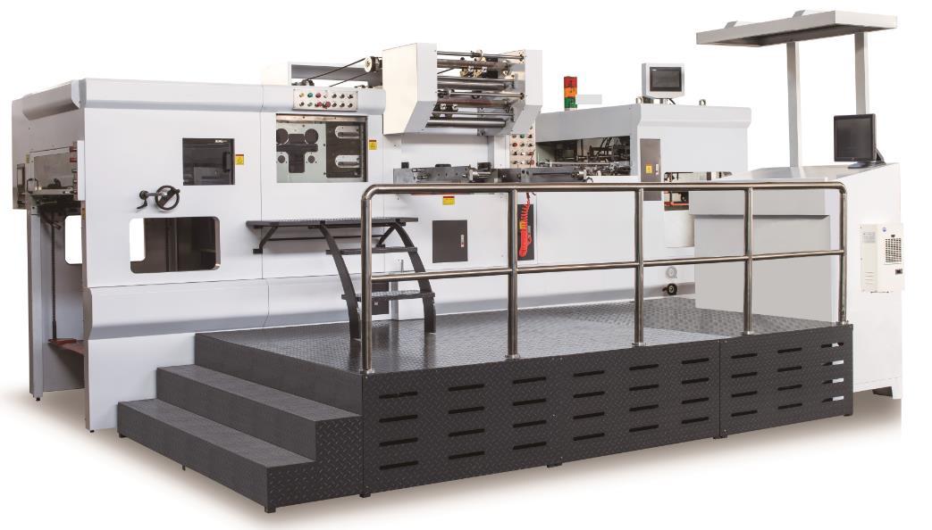 Champion ULTRAFOIL 1050 Full-Automatic Hot Foil Stamping Creasing Die-cutting Machine