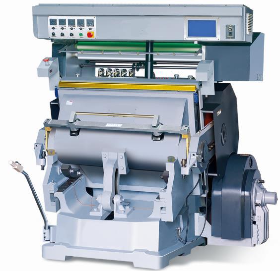 Loretta LDHF 750/1100 Platen Die Cutting & Hot Foil Stamping Machine
